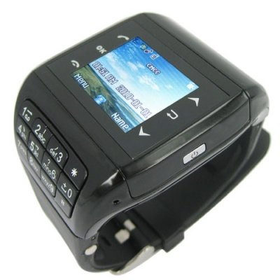 Quad Band Touch Screen Cellphone Watch with 2.0 MP Camera